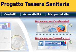 pulsante accesso con credenziali